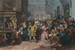 'The South Sea Bubble, a Scene in Change Alley in 1720' by Edward Matthew Ward (1847)