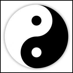 The Taijitu symbol, or Yin Yang, is closely associated with Taosim