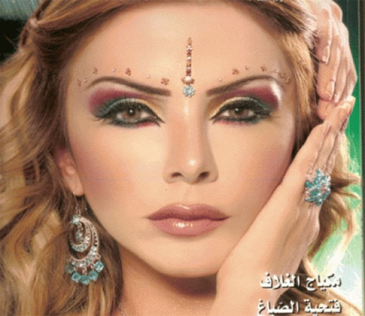 Perfection is the first word when it comes to Arabian makeup.