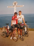 Cycling Lands End to John o Groats - End to End bike ride