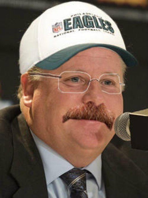 Philadelphia Eagles head coach Andy, er, Chip Kelly?