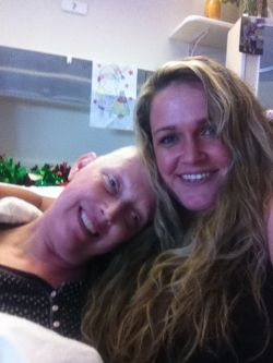 Aunty Jackie and I, 4 months before her passing.