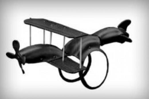 Airplane Tire Swing