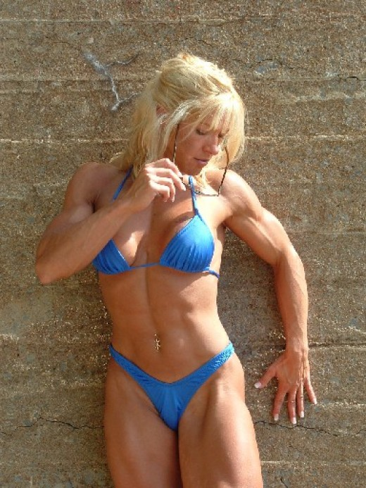Bodybuidling girl