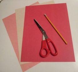 Valentine Paper Pocket Craft Supplies
