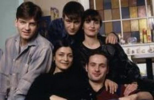 The house mates from 'This Life'