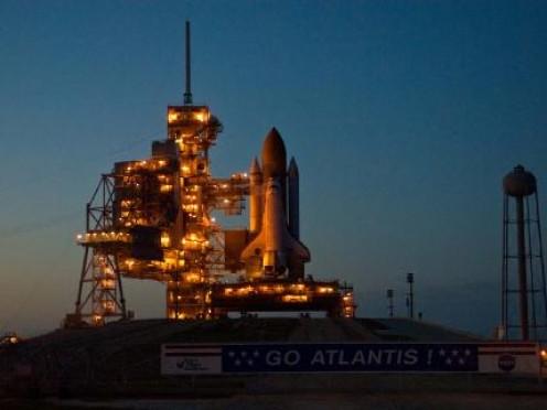 Space Shuttle Atlantas.
