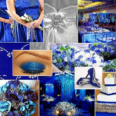 Peacock Themed Wedding - Blue Themed Wedding