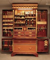 Woodworkers Tool Storage Cabinet