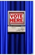 Vote Here Booth