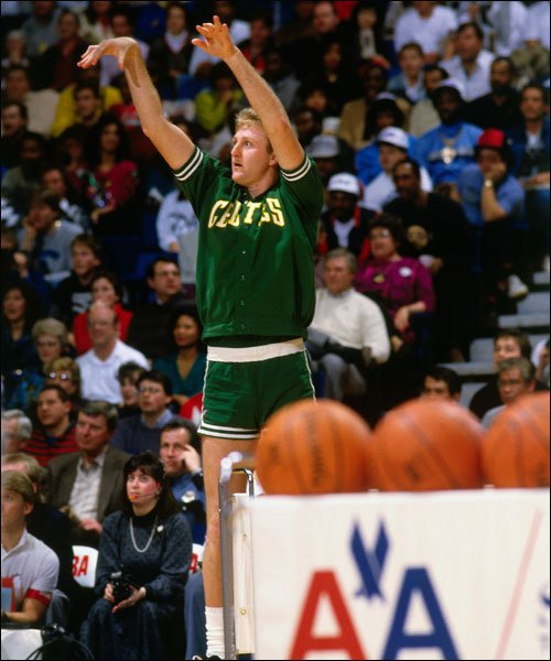 Larry Bird Was The First Winner Of The Three Point Shootout in 1986
