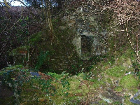 Ruined stone pigsty now fully restored