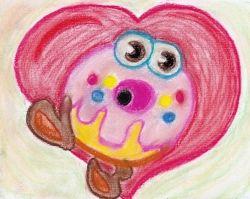 Oddie pastel drawing by squidoopets