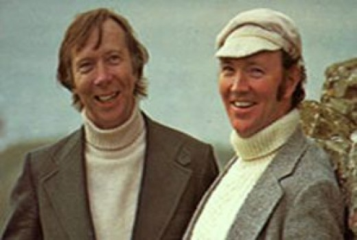 Tommy Makem and Liam Clancy, circa 1978.