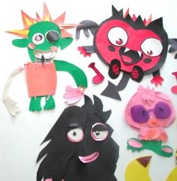 squidoopets Paper Doll Moshi Monsters