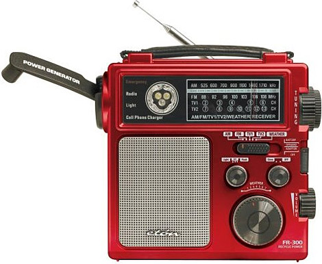 Emergency Crank Radio Power Generator