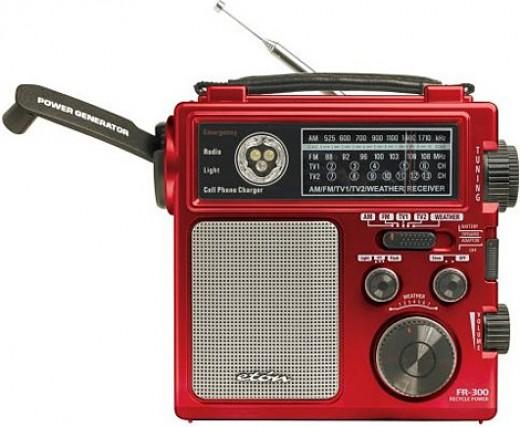 Emergency Crank Radio Power Generator