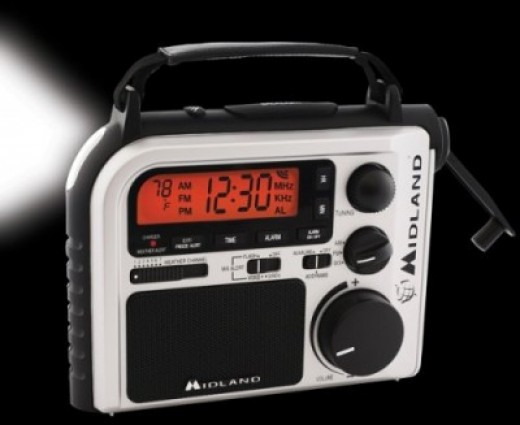 Midland Hand-Crank Radio