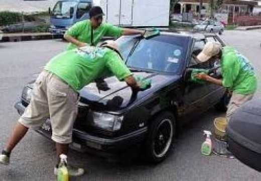 green car wash
