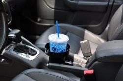 Black Auto Cup Holder Insert