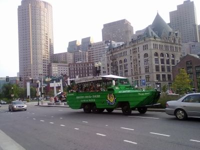 Atlantic Ave & Milk St... and Ducktour!