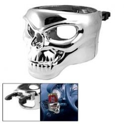 Skull Mount Drink Bottle Holder