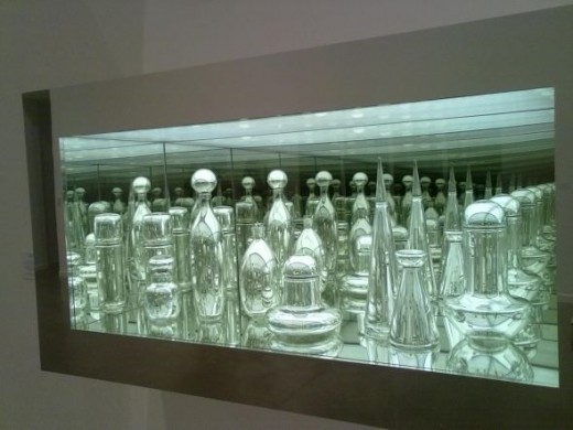 "Josiah Mcelheny - Exhibition ""Some Pictures of the Infinite"" - Czech Modernism Mirrored and Reflected Infinitely, 2005"