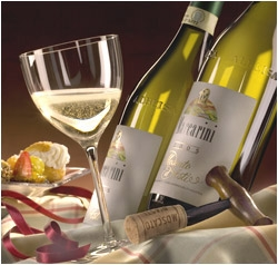 White Moscato Wine