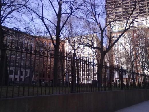 Granary Burying Ground at Tremont Street
