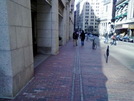 Continuing through The Freedom Trail on Tremont Street
