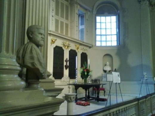 King's Chapel Sanctuary