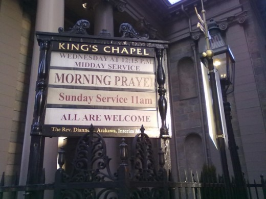 King's Chapel Services