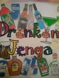 DIY Drinkin' Jenga Game