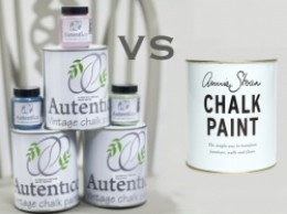 Autentico Chalk Paint Vs Annie Sloan