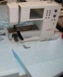 Make a custom sewing table cheap!