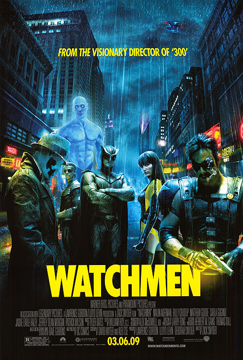 So soon after the success of both Iron Man and The Dark Knight, Watchmen became the Heaven's Gate of superhero films.