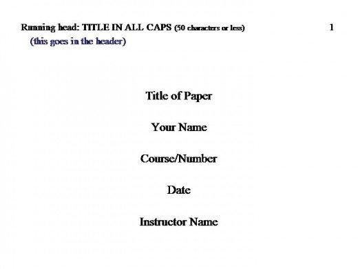 Apa 6th edition dissertation chapter headings