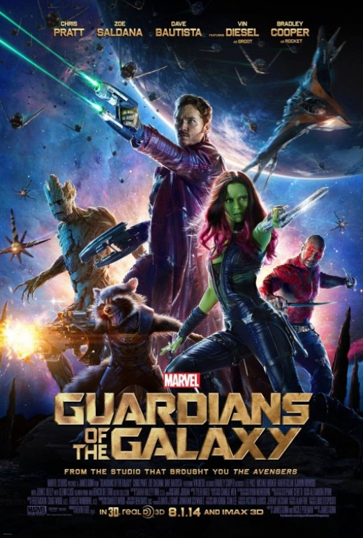Guardians of the Galaxy was Marvel Studios most profitable film of 2014.