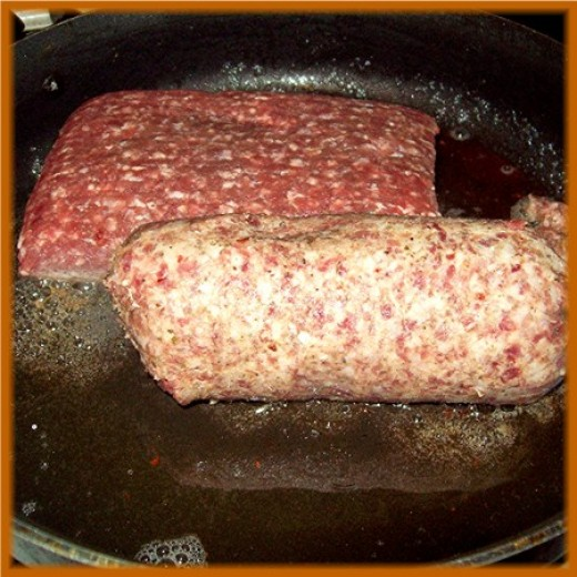 Ground Beef And Hot Sausage