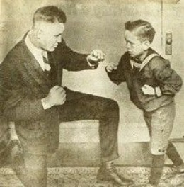 Billy with his son - Billy Miske Jr.