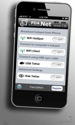 internet tethering iphone 4