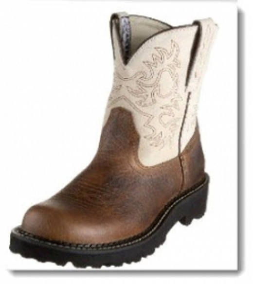 Women's Ariat Fatbaby Boot - Earth/Bone