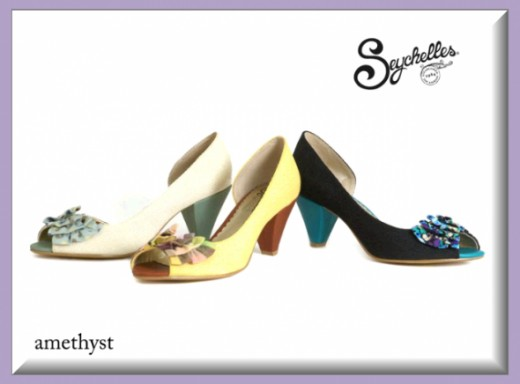 Seychelles Amethyst Peep Toe Pumps - All Colors