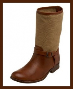 Frye Melissa Short Shaft Boots - Cognac