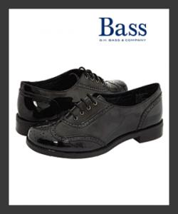 Bass Bellingham Black Oxford Women's Shoes