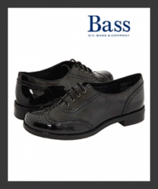 Bass Bellingham Black Oxford Women's Shoes