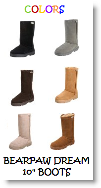 Bearpaw Dream 10