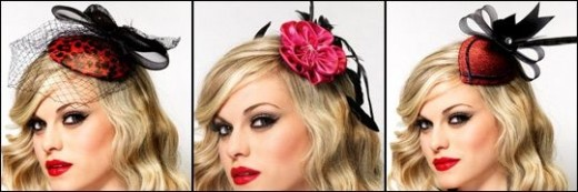 Fabulous Burlesque Pin Up Fascinators