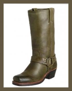 Frye Women's Harness 12R Boots - Olive
