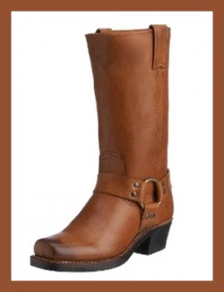 Frye Women's Harness 12R Boots - Saddle